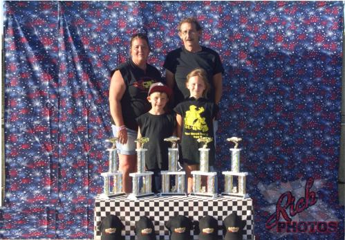 Mitchell Motorcycle Transport trophy sponsor DCSA Racing