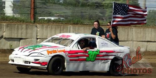 Jessica Ehlers American Flag National Anthem Lap