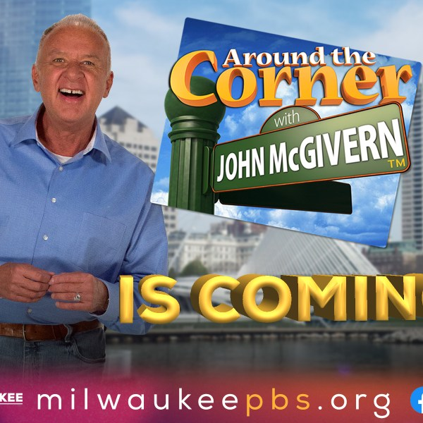Around the Corner with John McGivern filming at Dodge County Fair