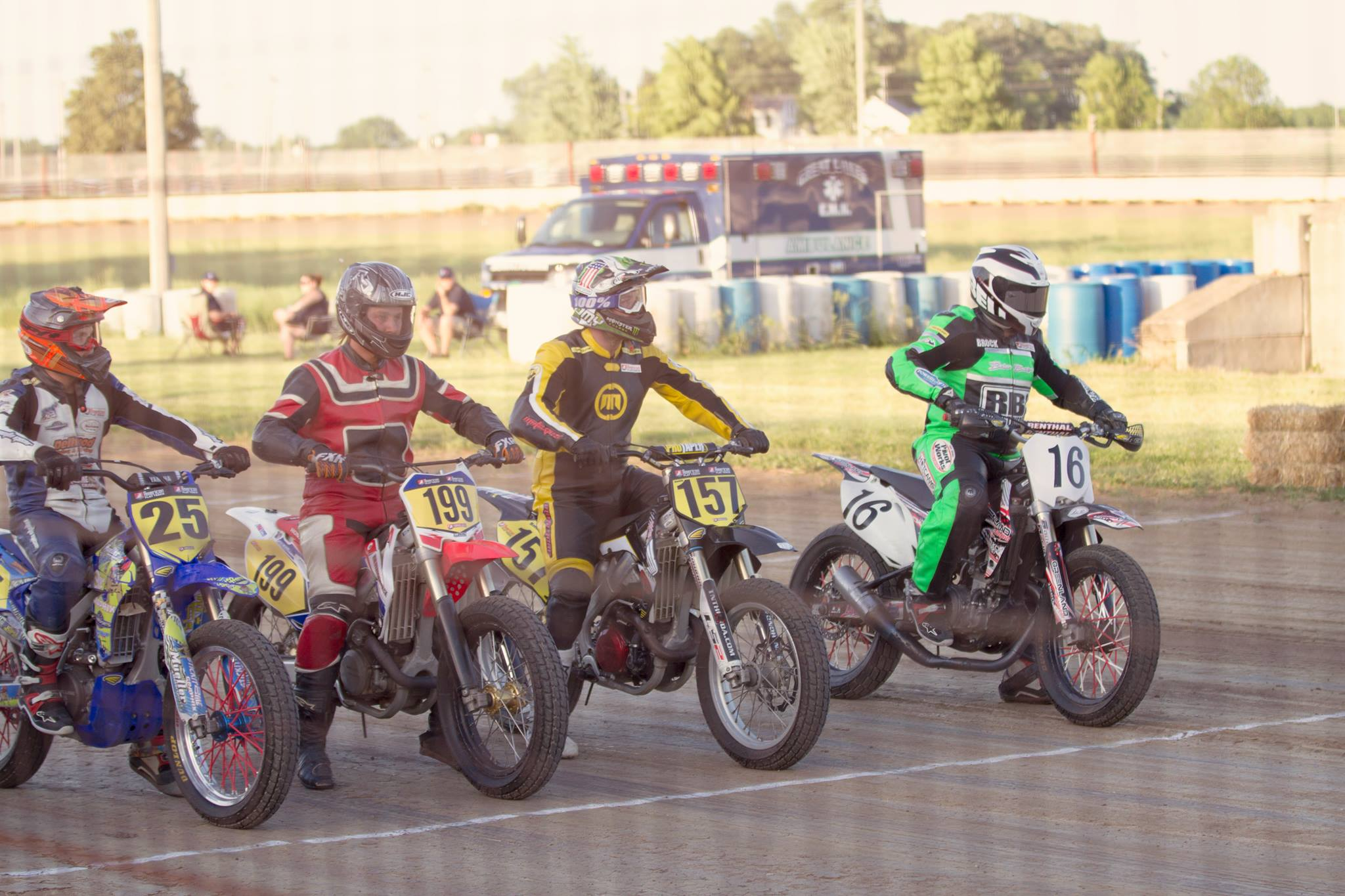 Beaver Cycle Club 2017 AMA Flat Track