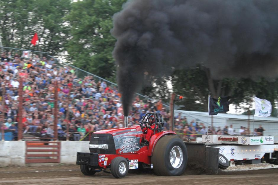 Case IH Badger State Tractor Pull