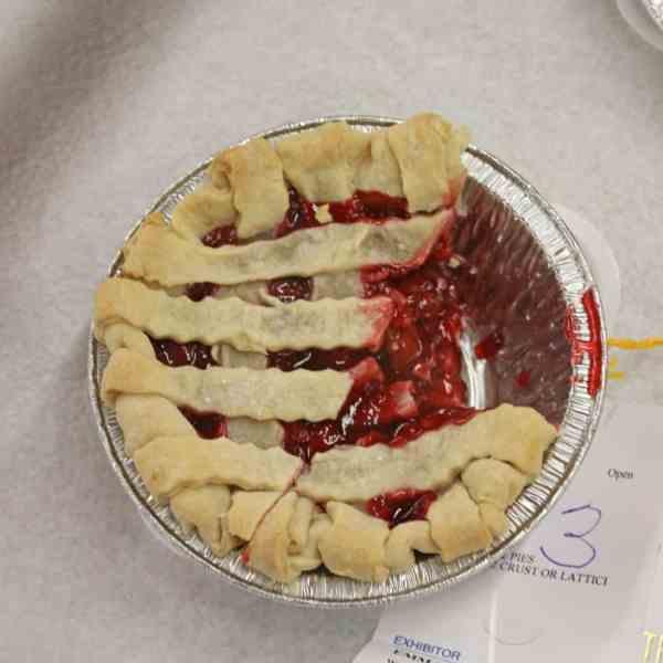 Junior Fair Foods and Food Preservation Judging