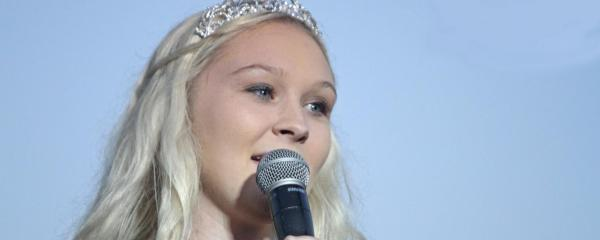 Justmann's emotional reflection on year as Fairest of the Fair