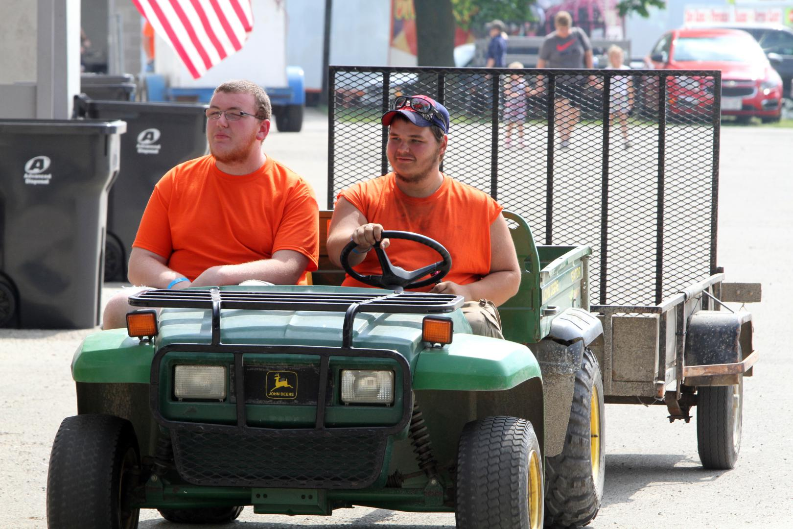 Grounds Crew at Dodge County Fair