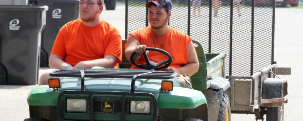 Grounds Crew Summer Job openings at County Fair