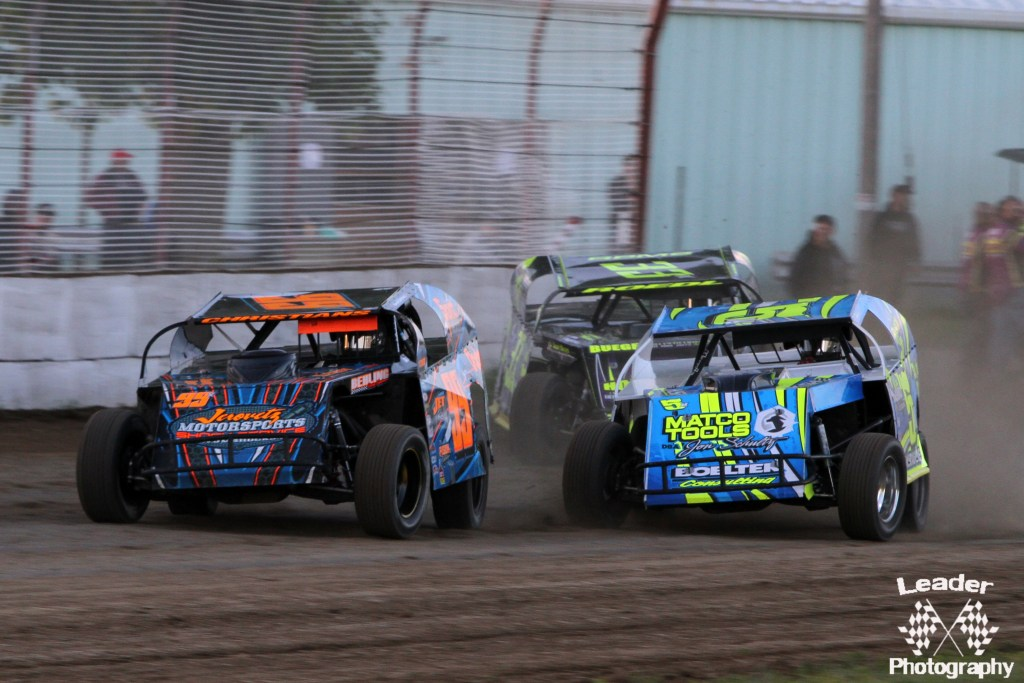 IMCA Modifieds in Racing Action