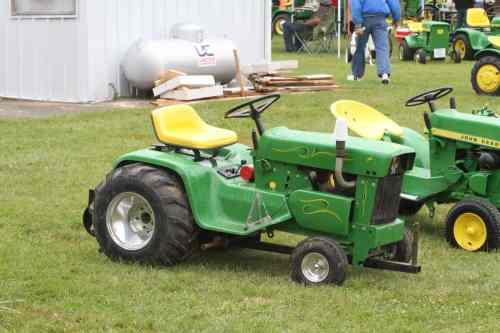John Deere Garden Tractor Pulling