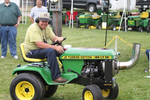 John Deere Turbo Charged 314 Garden Tractor