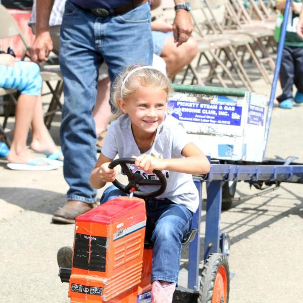 Kids Pedal Tractor Pull