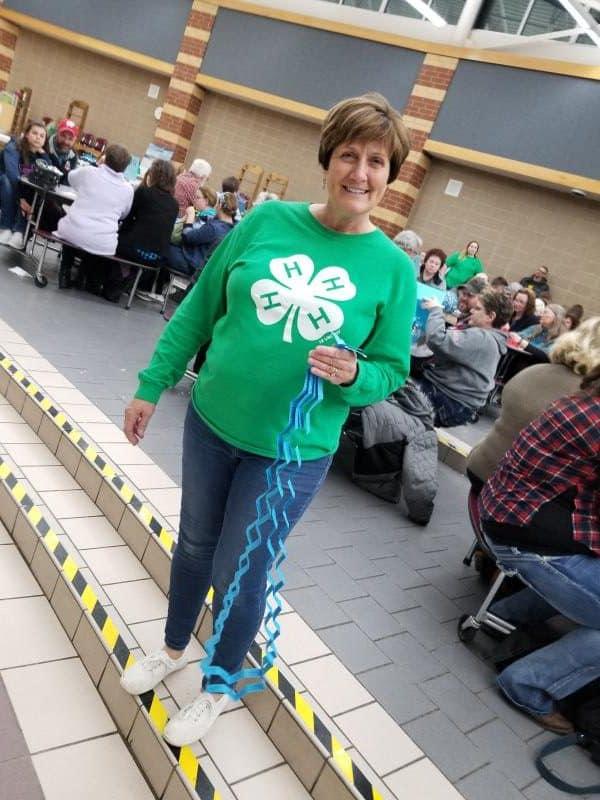 Mary Pat Boschert, 2019 5050 raffle winner