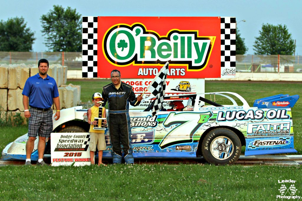 Tim Buhler Dirt Late Model Feature Win