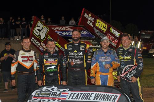 Top 5 IRA Drivers at Dodge County Fairgrounds Speedway