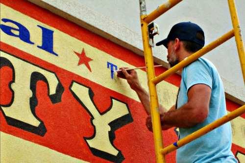 Walldogs Mural Festival Beaver Dam WI