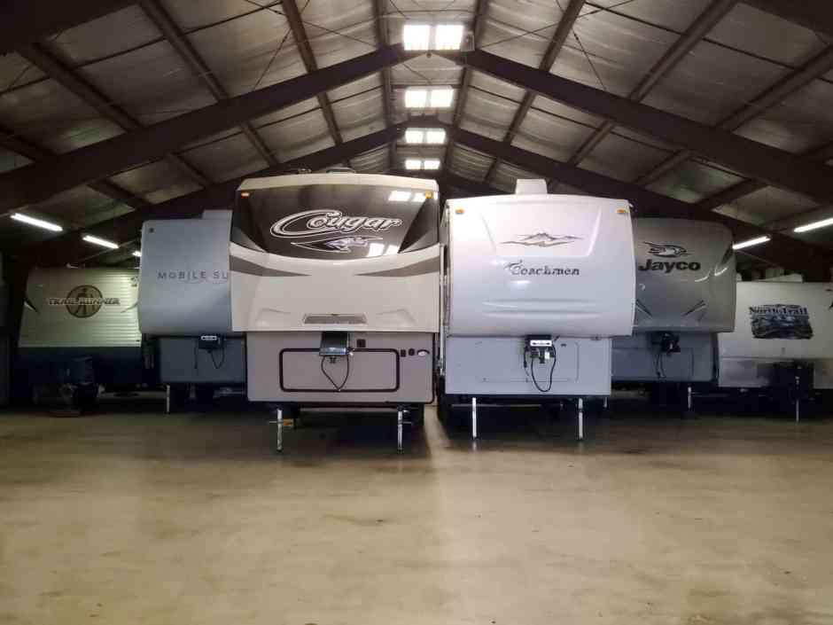 Wisconsin Indoor RV Storage