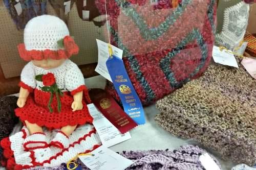 junior fair knitting crocheting exhibit