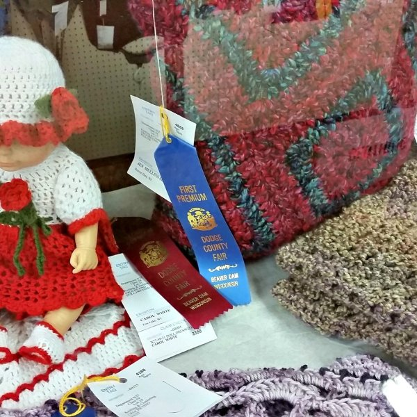 Junior Fair Knitting and Crocheting Judging