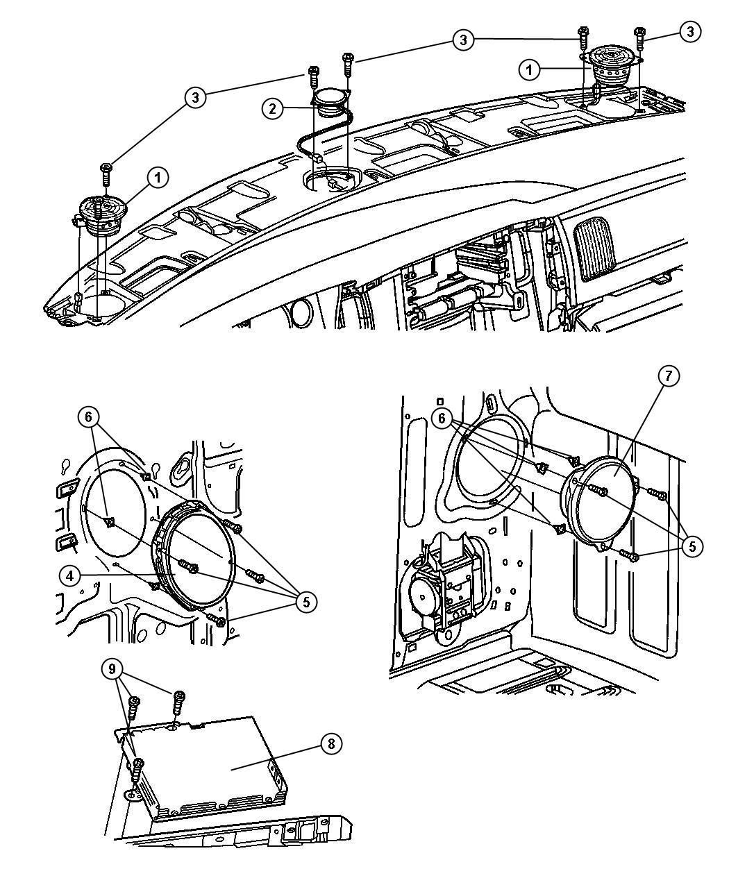 Dodge Ram Wiring Parts