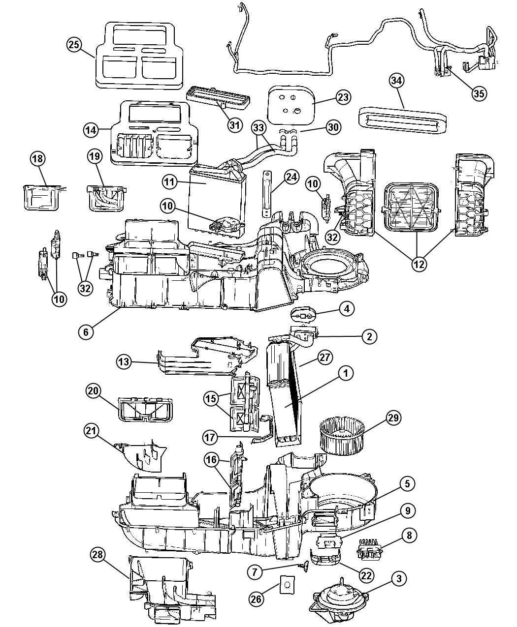 Dodge Durango Resistor Blower Motor Air Conditioning