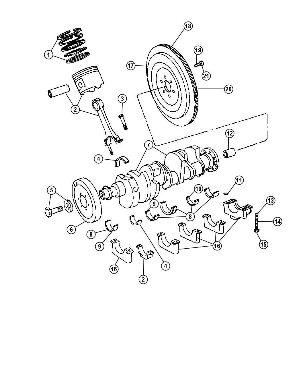 Dodge Ram Bearing Pilot Manual Transmission