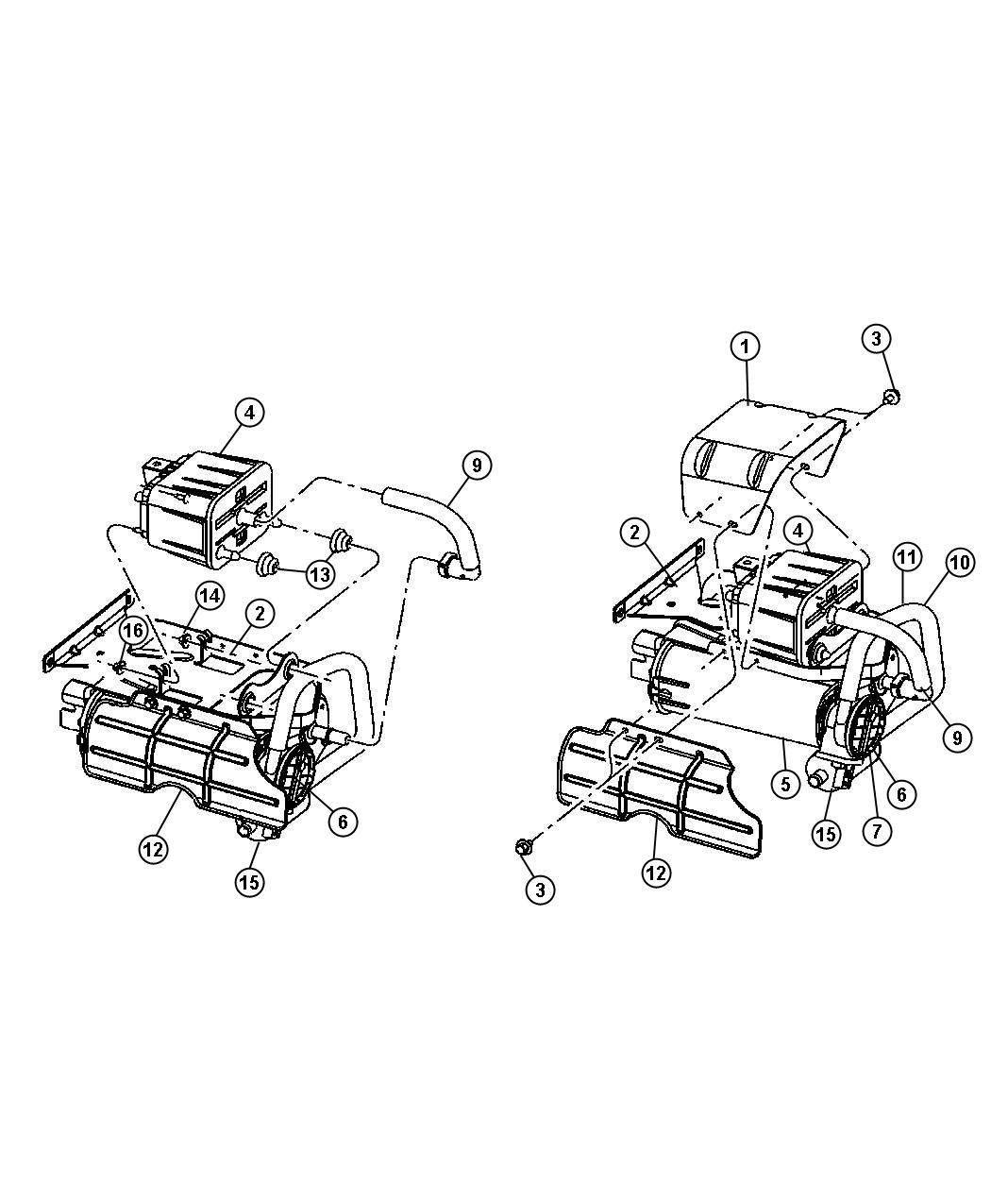 Dodge Caravan Pump Leak Detection Leak Detection W O
