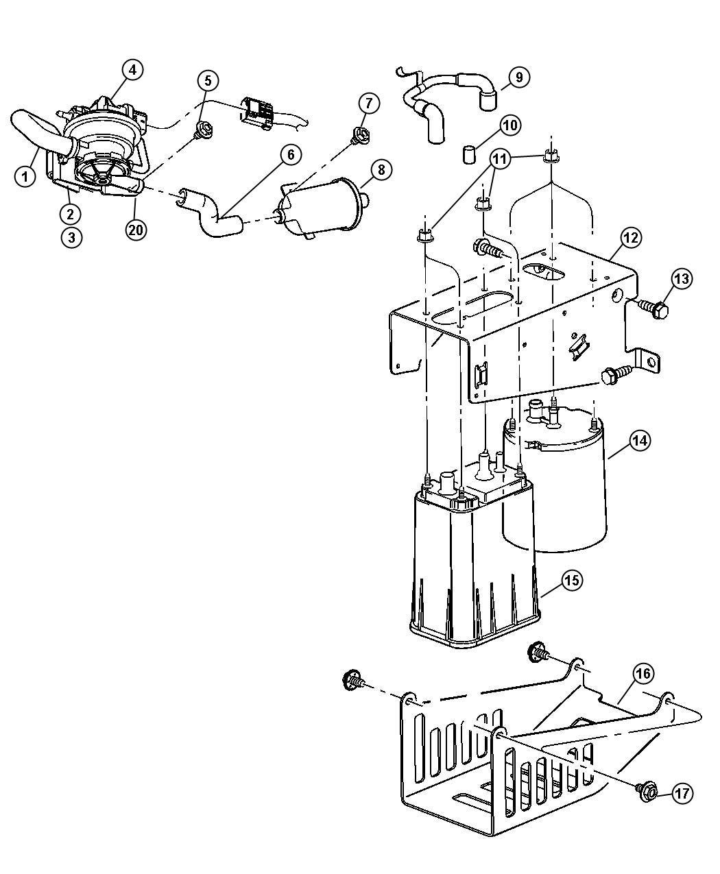 32 Dodge Ram Evap System Diagram