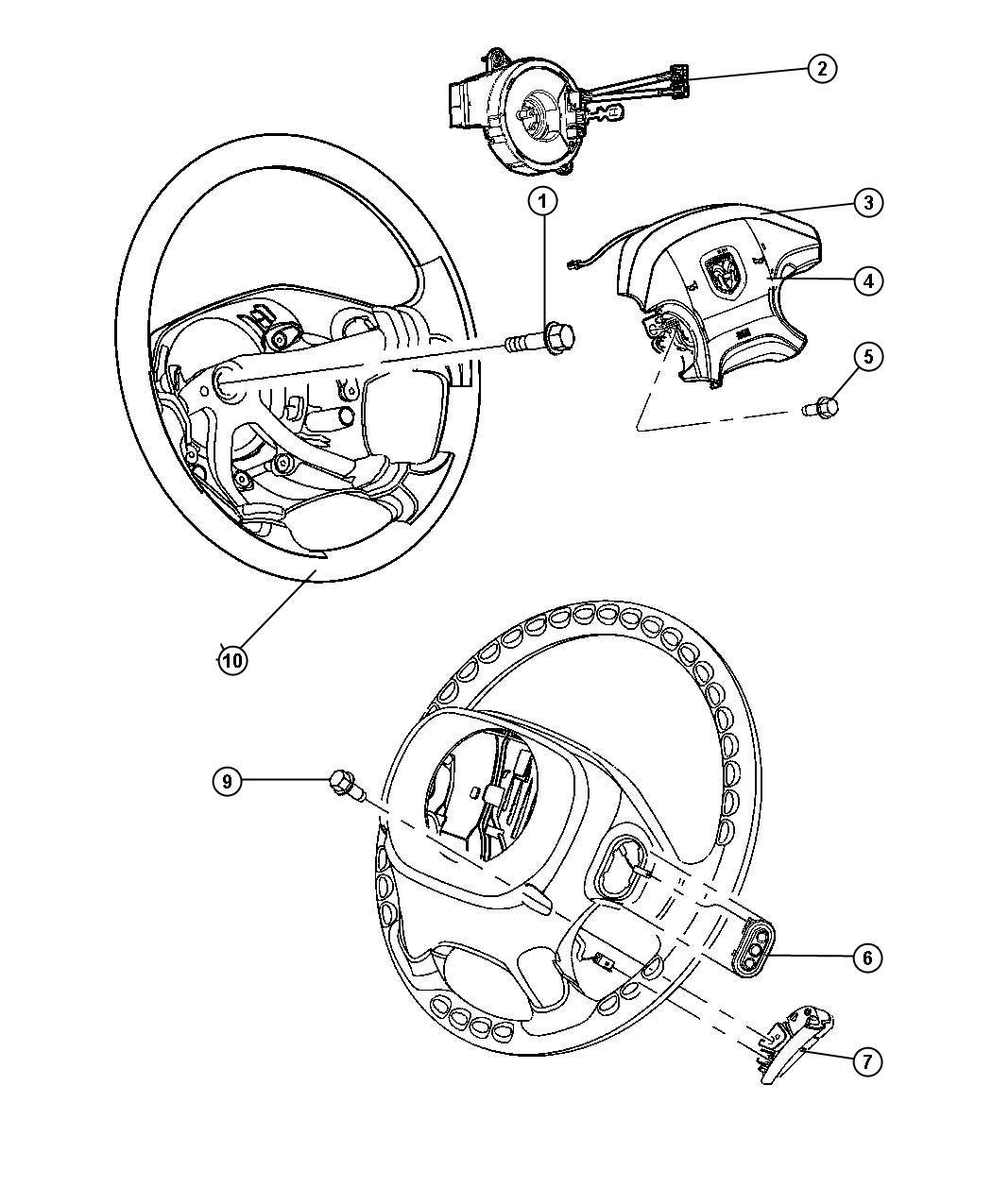 Dodge Ram Clockspring