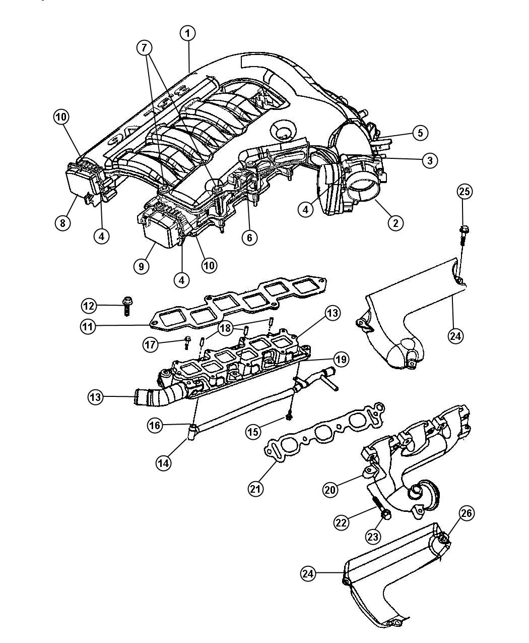 Dodge Charger Exhaust Diagram 2 7