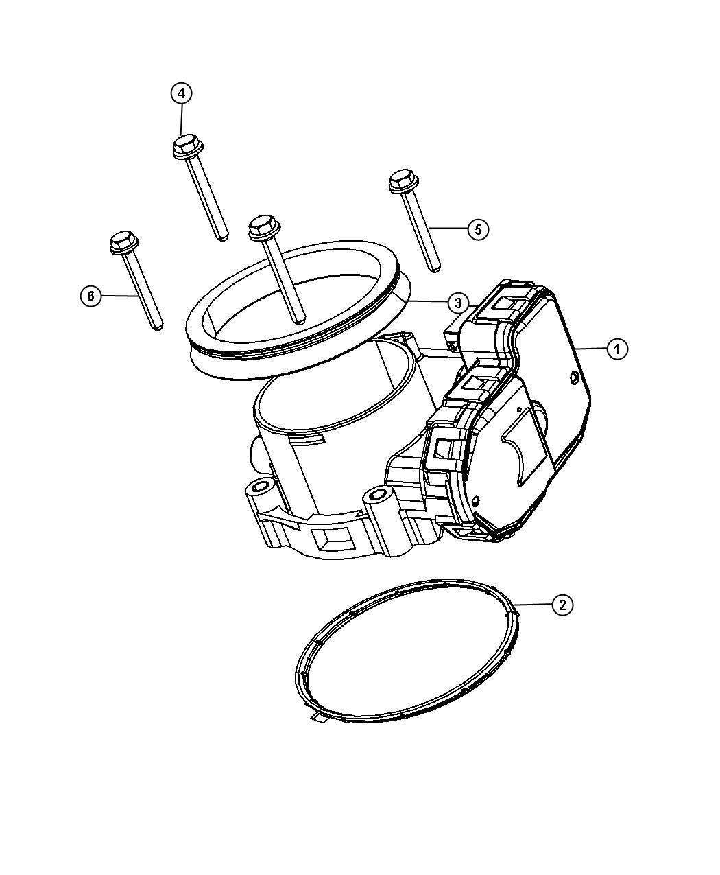 Dodge Ram Throttle Body 7 26 04 And After Ekg