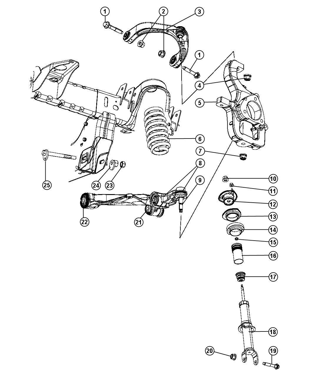 Dodge Dakota Nut Hex Flange Lock M14x2 00 Mounting Lca