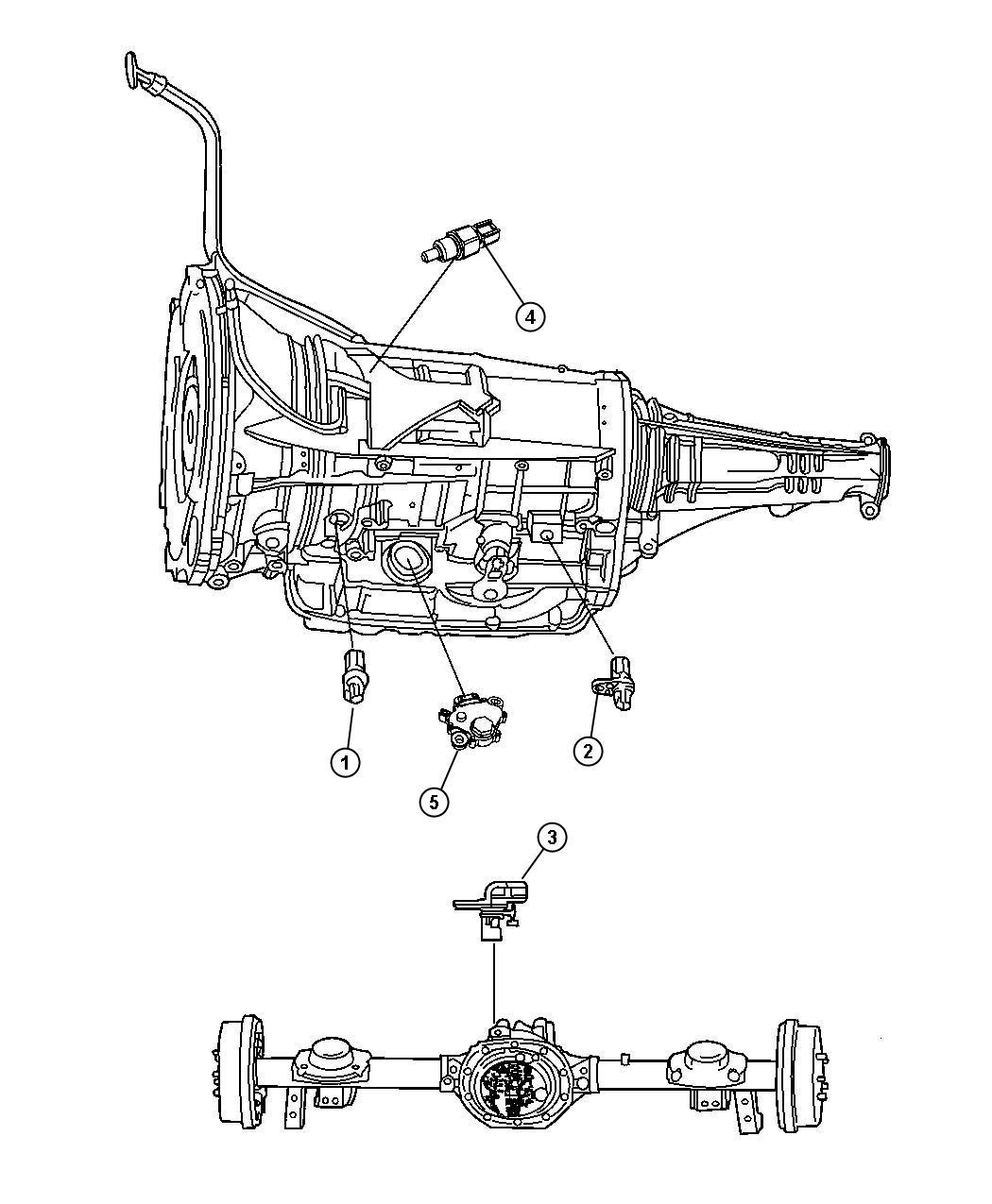 Dodge Ram Range Sensor Switch Neutral Start Transmission