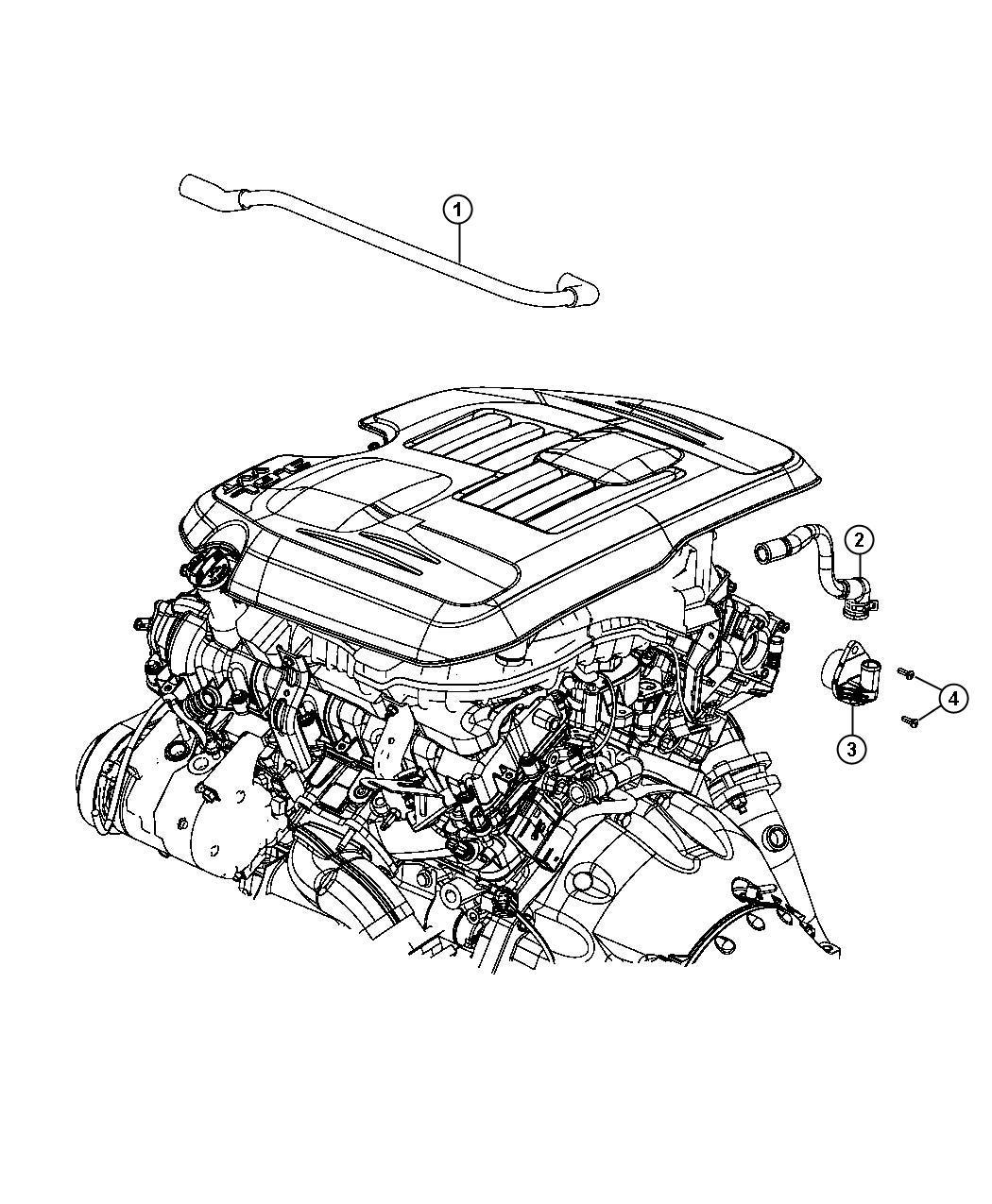Dodge Charger Valve Pcv Engine Crankcase Ventilation