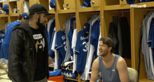 Dodgers Clayton Kershaw and Sergio Romo