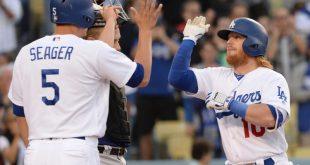 Dodgers 2017 Infield