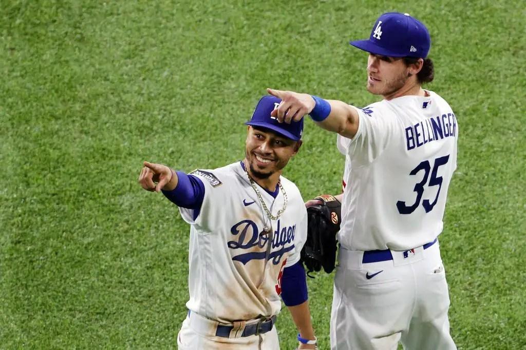 Dodgers: Mookie Betts e Cody Bellinger nomeados finalistas para o prêmio Gold Glove 2