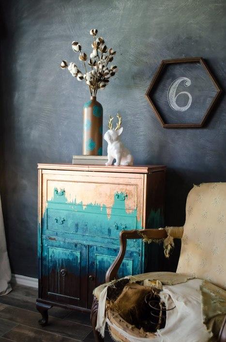 Copper Leaf Finish For Furniture