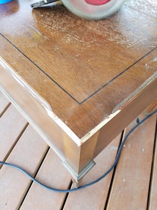 repair step and a chewed has decorating pet by been furniture how to that wood make decorate tos