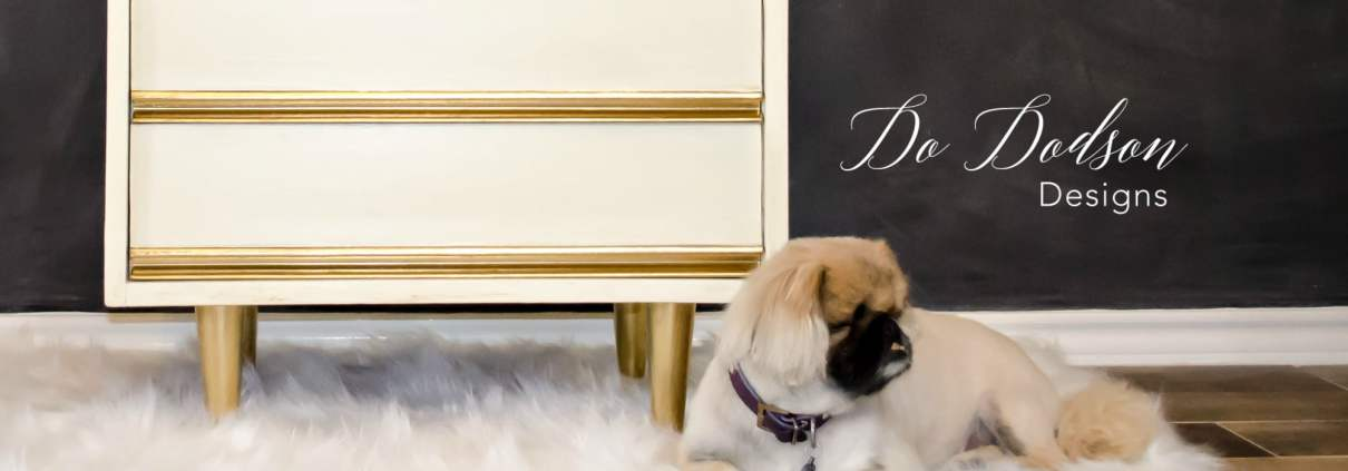 Dixie Nightstand Painted Furniture Makeover