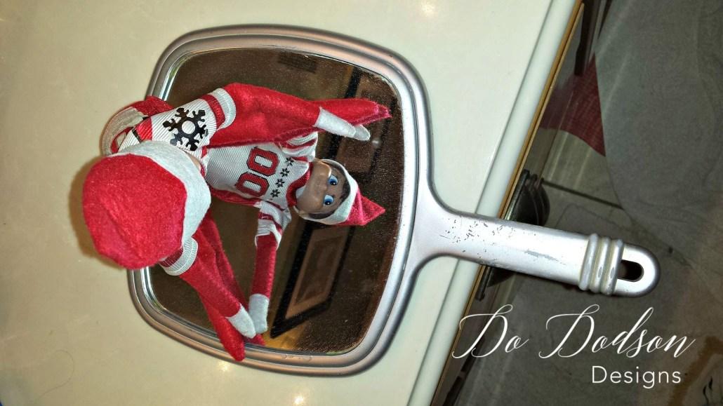 Elf on the shelf mischievious ideas feeling reflective.