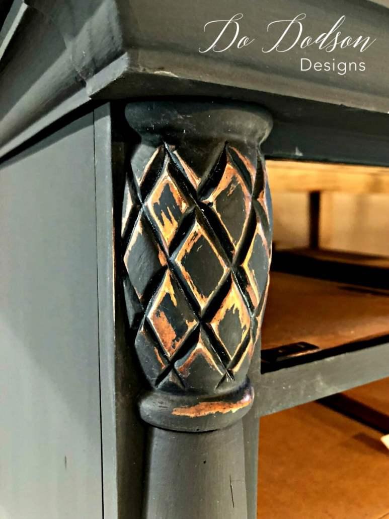 Tips for an effortless distressed dresser.