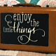 Enjoy the little things, like Chalk Couture!