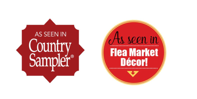 Furniture painter featured in Country Sampler & Flea Market Decor
