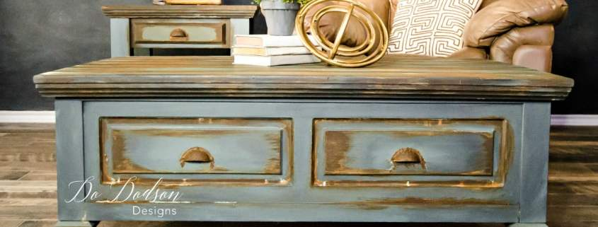 Man cave furniture that will make your hubby happy. #dododsondesigns #mancavefurniture #paintedfurniture