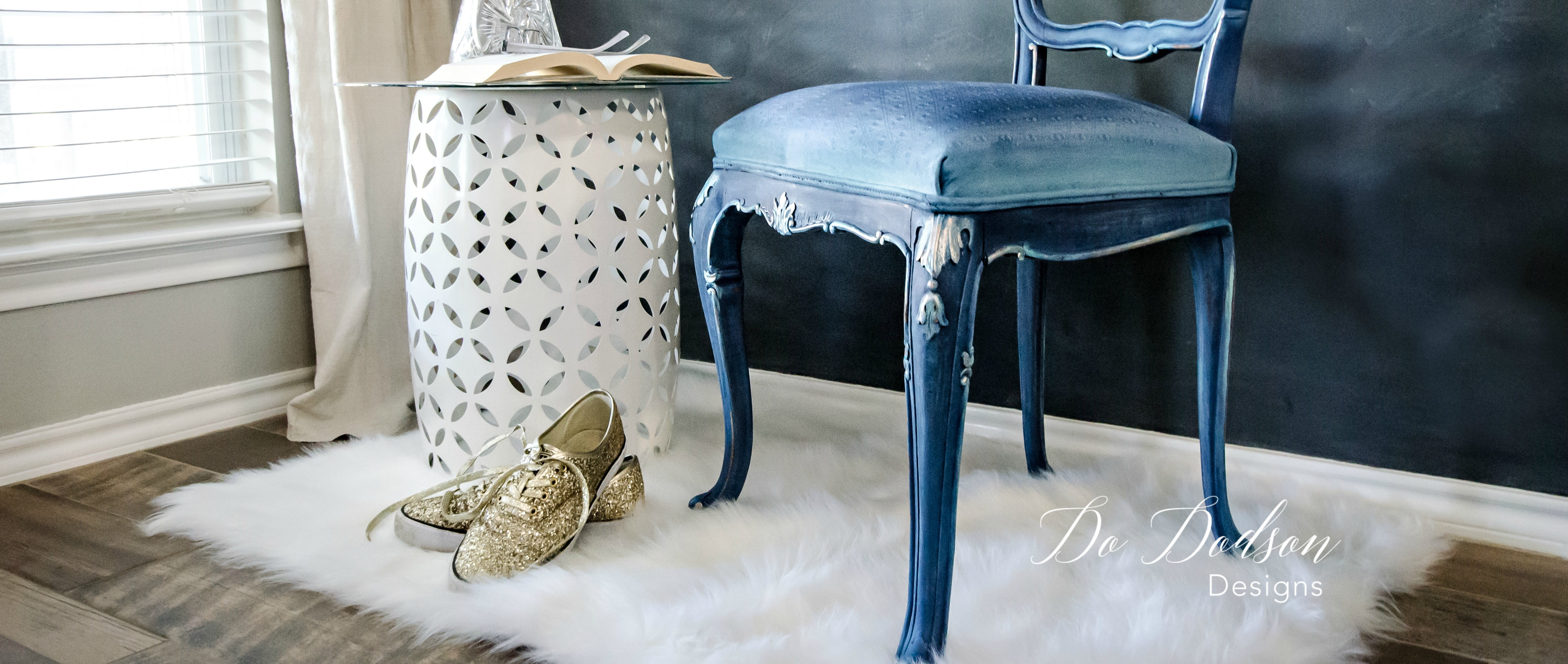 Painting Fabric On A Chair Is Easier Than You Think!