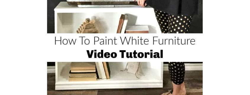 paint wood white furniture