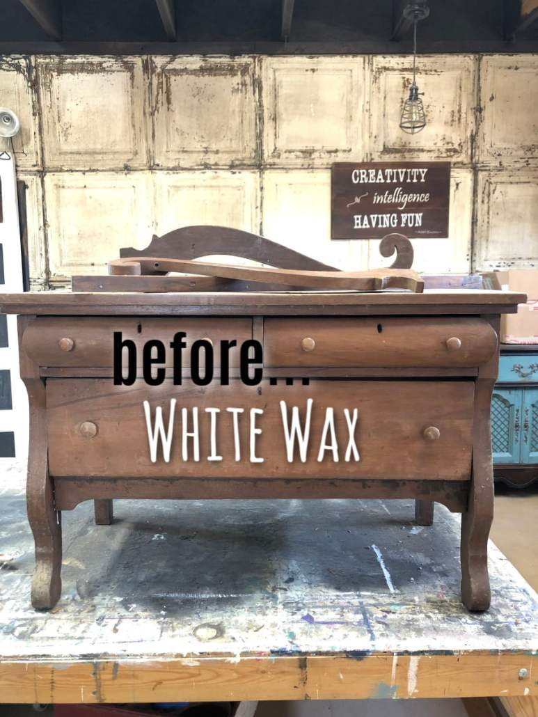 How To Easily Apply White Wax On Wood Furniture
