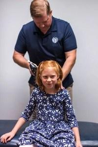 dr dody adjusting child with KST technique