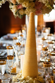 Handmade Pearl Centerpieces