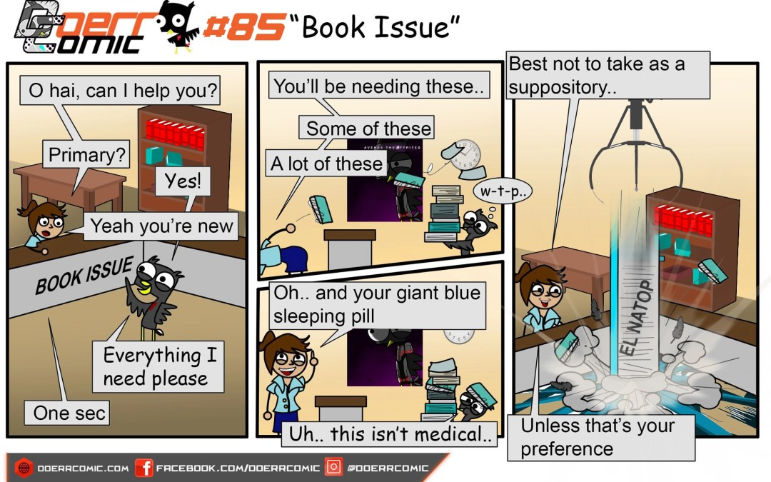 85. Book Issue