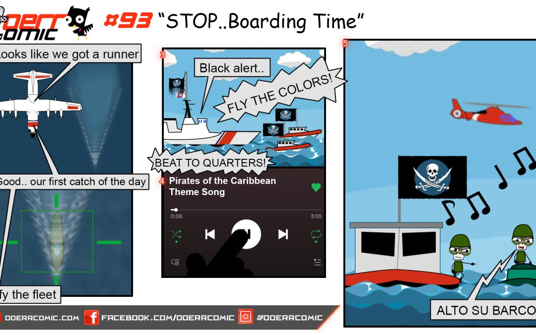 93. STOP…Boarding Time