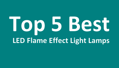 Top 5 Best LED Flame Effect Light Bulb - Lamps